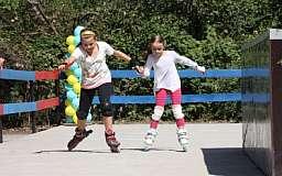 Современная спортивная площадка для детей Саксаганского района