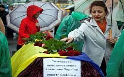 Сегодня на Днепропетровщине прощаются с неизвестными воинами, погибшими в АТО (ОБНОВЛЕНО)