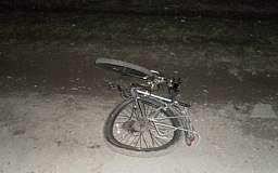 В Кривом Роге водитель сбил 23-летнего велосипедиста и скрылся с места ДТП