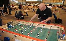 В Кривом Роге открылась бесплатная секция игры в Настольный футбол