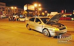 В Кривом Роге на Соцгороде столкнулись «Skoda» и «BMW»