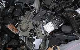 На Днепропетровщине изъято более 700 единиц оружия из незаконного оборота