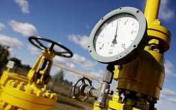 Украина сократила потребление газа на 27%