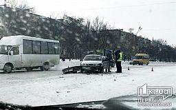 Криворожанин на Daewoo спровоцировал ДТП