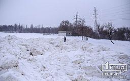 Куда уезжает снег с улиц Кривого Рога