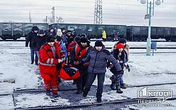В Кривой Рог вернулся раненый во время учений оператор Слава Волк