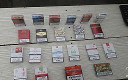 В Кривом Роге парень незаконно торговал сигаретами