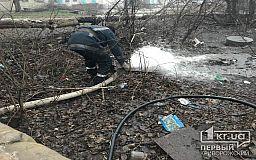 Цілий день рятувальники відкачували воду із лікарні у Кривому Розі