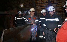 На шахте «Юбилейная» рудника «Суха Балка» провели уникальный тренинг