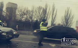 Опьяненный водитель ВАЗа в Кривом Роге спровоцировал ДТП с Nissan