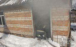 В Кривом Роге горела летняя кухня