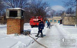 Под Кривым Рогом затопило подвал больницы