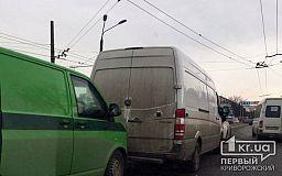 Инкассаторская машина попала в ДТП в Кривом Роге
