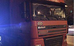 В Кривом Роге водитель грузовика не справился с управлением