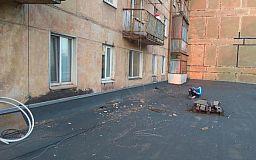 Спасатели и полицейские сняли с крыши криворожанина, который травмировался