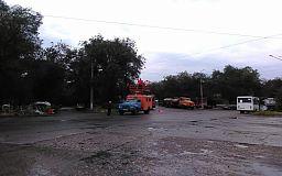 Во время рабочей перевозки в Кривом Роге оборвалась троллейбусная контактная сеть