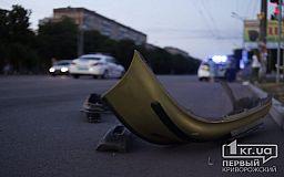Не проскочил: в Кривом Роге авто службы госохраны столкнулось с Daewoo Lanos