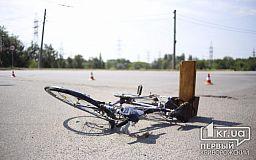 В Кривом Роге сбили пенсионера на велосипеде