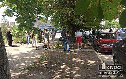 Митинг на территории депо КП Скоростной трамвай в Кривом Роге