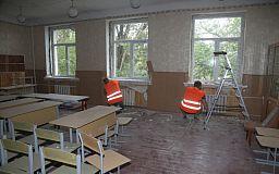 До початку навчального року у Кривому Розі планують відремонтувати 60 шкіл та дитсадків