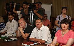 Компания «Украинские минеральные удобрения» обсудила перспективы строительства нового технологичного производства с громадой Кривого Рога