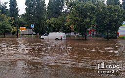 После дождя 173 квартал скрылся под водой, - криворожанин