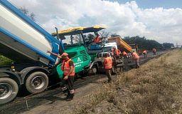 На автотрассе Днепр-Кривой Рог-Николаев начали капитальный ремонт дороги