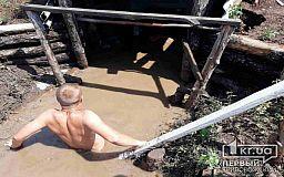 По пояс в воде были вынуждены несколько дней жить криворожские военнослужащие в/ч 3011