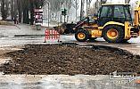 Работы по ремонту коллектора на центральном проспекте Кривого Рога заканчиваются