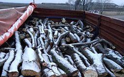 Камаз із деревиною без документів  затримали нацгвардійці з Кривого Рогу
