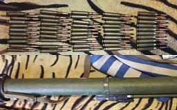 Криворожанин хранил в шкафу гранатомет и боеприпасы