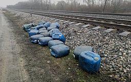Нацгвардейцы из Кривого Рога задержали подозреваемых в краже дизтоплива