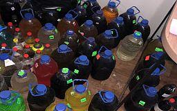 2 тонны алкоголя-фальсификата и 100 тысяч пачек сигарет изъяли правоохранители в Днепропетровской области