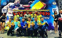 Кикбоксеры из Кривого Рога стали чемпионами Международного турнира