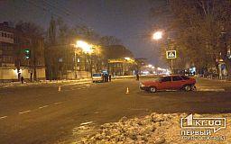 На проспекте в Кривом Роге столкнулись минивэн и легковушка