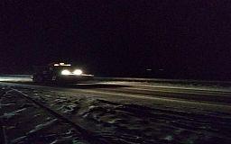 Движение транспорта на трассе Н-23 за пределами Кривого Рога перекрыто