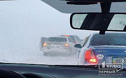 Движение по трассе Кропивницкий-Кривой Рог-Запорожье возобновлено