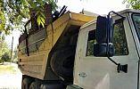 Криворожские патрульные остановили два грузовых автомобиля с крупной партией незаконного металлолома