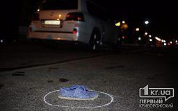 Фото 18+ В Кривом Роге джип насмерть сбил пешехода