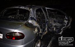 Не все сгорело: криворожским спасателям пришлось дважды тушить один и тот же Daewoo