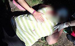 На пляже в Кривом Роге патрульные нашли избитую женщину
