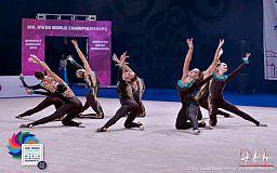 Команда грациозных гимнасток из Днепропетровской области представляла Украину на Чемпионате мира