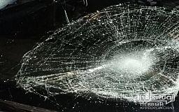 В Кривом Роге пьяный пешеход угодил под колеса легковушки