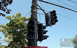 Аварийное отключение света: в центре Кривого Рога не работают светофоры