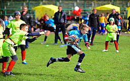 Команда юных регбистов участвует в чемпионате Украины