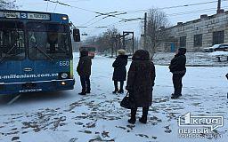 Какие нарушения выявили патрульные в заблокированном криворожанами троллейбусе
