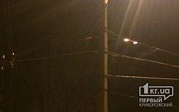 Мешканці Кривого Рогу скаржаться на оголені дроти на електроопорах