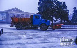 В предпоследний день зимы снегоуборочная техника снова на дорогах Кривого Рога