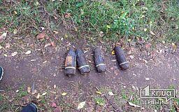 Во время поиска металлолома криворожанин нашел боеприпасы
