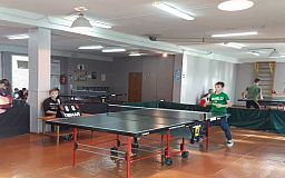 Криворожские школьники одержали победу на областном чемпионате по настольному теннису